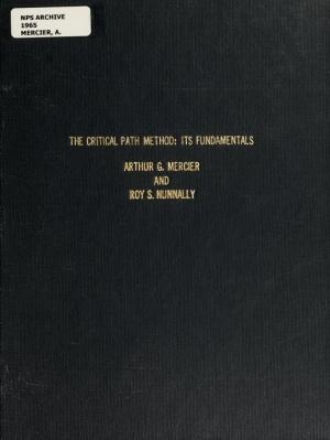 the_critical_path_method_its_fundamentals_mercier_arthur